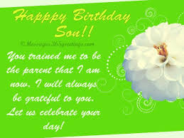 birthday wishes for son 365greetings com
