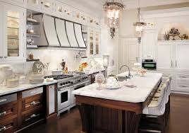 wood kitchen cabinets with white island 67 desirable kitchen island decor ideas color schemes