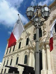 Matla Flag Auberge De Castelle And Malta Flag