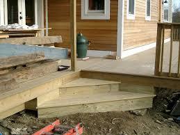 Corner Deck Stairs Design Inside Corner Deck Stairs Home Design