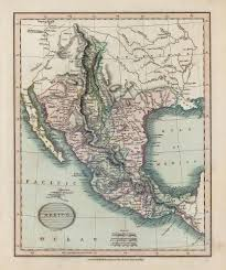 Cary Map Antique Maps Of Mexico