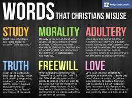 words that christians misuse http dailyatheistquote