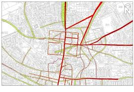 lincoln city map heritage connect lincoln