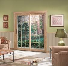 Patio Doors With Windows Sliding Patio Doors Energy Efficient Sunrise Windows