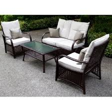 Patio Furniture With Sunbrella Cushions Sunbrella Patio Furniture You Ll Wayfair
