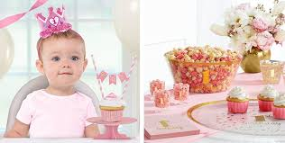 pink and gold party supplies pink gold confetti premium 1st birthday party supplies pink