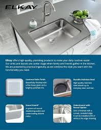 Elkay Kitchen Sinks Reviews Fabulous Elkay Kitchen Sinks Loading Zoom Elkay E Granite Kitchen
