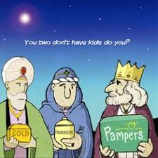 humorous christmas cards i said frankincense christmas three wise men and card