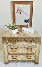 gold nightstands foter