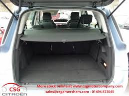 citroen c4 picasso trunk used teles blue citroen grand c4 picasso for sale buckinghamshire
