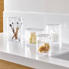 Clear Bathroom Accessories by Bathroom Accessories And Furniture Crate And Barrel