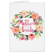 Bride Cards Mother Of The Bride Cards Invitations Greeting U0026 Photo Cards