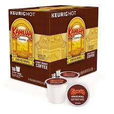 keurig k cups light roast kahlua original light roast coffee k cup pods 18ct target