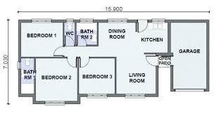3 bedroom home plans simple 1 bedroom house plans iamfiss