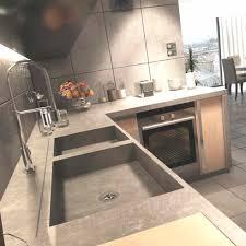 epaisseur plan de travail cuisine plan de travail en béton bfuhp ductal de cuisine epaisseur 5