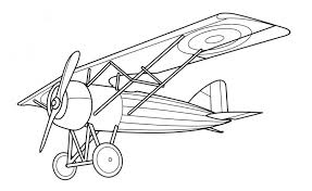 printable coloring pages airplanes
