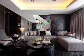luxurious living rooms luxurious living room design with brown furniture by steve leung