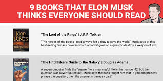 biography book elon musk 9 books elon musk thinks everyone should read elon musk book elon