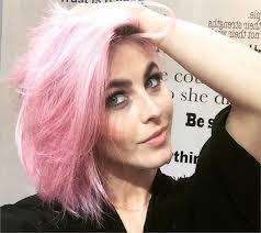 julianna huff hair julianne hough s pink hair formula career modern salon