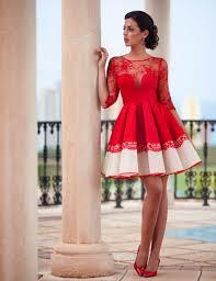 red lace cocktail dresses vosoi com