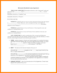 6 rental lease agreement resume sections