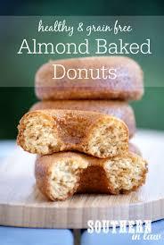 recipe grain free baked almond donuts sugar free grain free