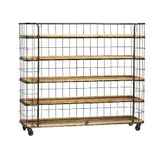 Wood Bakers Racks Furniture Modern Bakers Rack On Casters With Simple Design Ideas Also Wooden