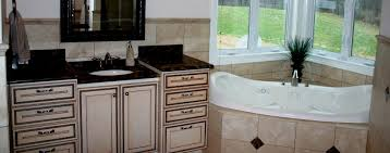 Bathroom With White Cabinets - cana cabinetry distinctive kitchen cabinetry