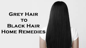 black grey hair natural black hair 3 miraculous beauty tips to turn grey hair