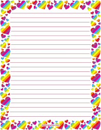 free printable rainbow stationery 781 best stationary images on pinterest writing paper letters and
