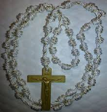 rosary twine handmade knotted cord rosary twine plastic crucifix our
