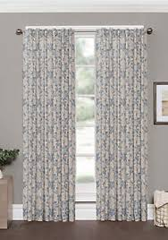 Window Curtains Window Curtains Drapes White Gold Floral More Belk