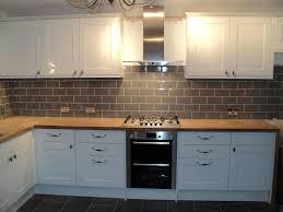 beautiful modern tile backsplash ideas for kitchen grey seamless