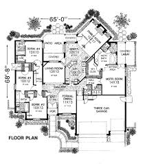 european floor plans exclusive design 4 european traditional house plans plan 98511