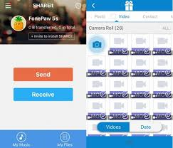 send files from android to iphone how to send from android to iphone with shareit