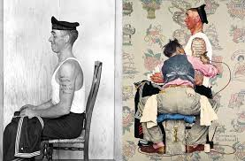the photos that inspired norman rockwell s paintings twistedsifter