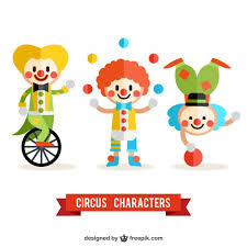 clown graphics 89 clown graphics backgrounds circus clowns pack vector free