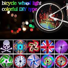 Monkey Bike Lights Diy Programmable Bike Bicycle Wheel Led Light Full Colors Monkey