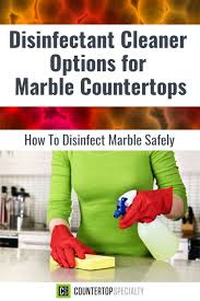 can you use to clean countertops disinfectant cleaner options for marble countertops marble