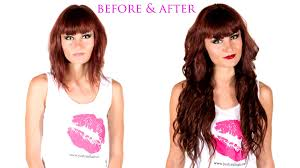 clip in hair extensions before and after hair extensions before and after