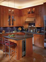 Cherry Kitchen Cabinets Houzz - Pictures of kitchens with cherry cabinets