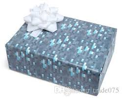 minecraft wrapping paper hot new gift wrap minecraft wrapping paper minecraft diamond