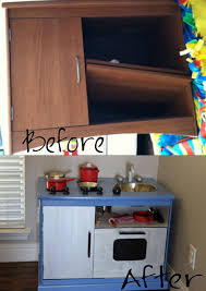 Tv Cabinet Kids Kitchen Play Kitchen Tv Stands Repurposed And Plays