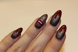 creepy halloween nail art tutorial youtube