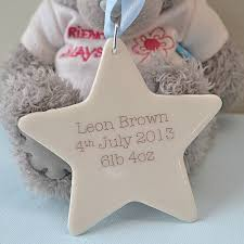 keepsake baby gift new baby boy or christening keepsake gift by carys boyle ceramics