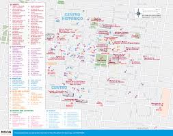 Coyoacan Mexico Map by Mexico City Map Major Tourist Attractions Maps