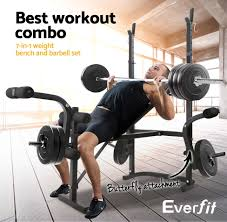 weight bench and weights package bench decoration