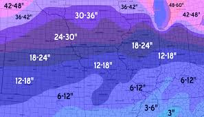 Snowfall Totals Map Winter 2014 2015 Cold Looks Likely Snow Totals May Be Up But