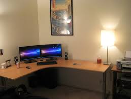 Best Computer Desk Setup Attractive Best White Gaming Computer Desk Setup With Nzxt H Case