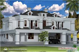 4400 sq ft victorian style exterior kerala home design and floor